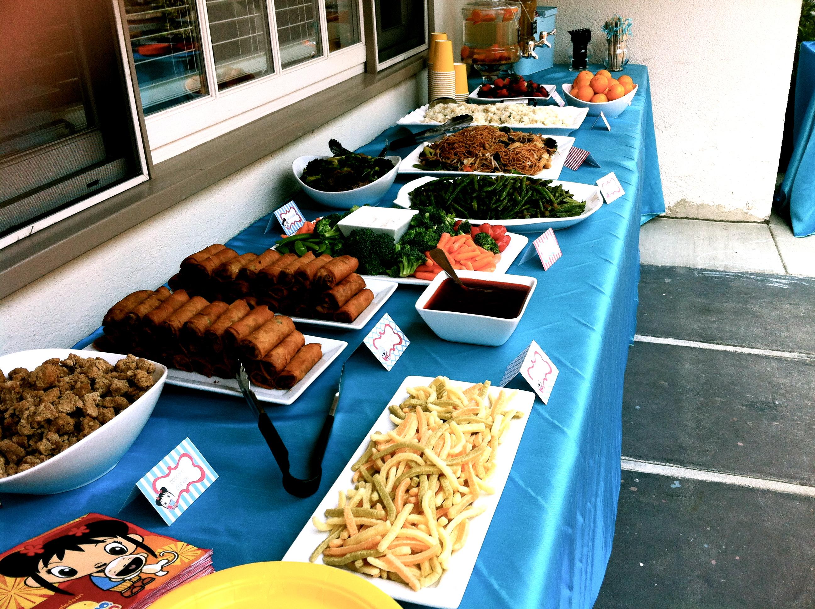 Chinese Dinner Party Ideas Part - 21: Happy Birthday Joshie!