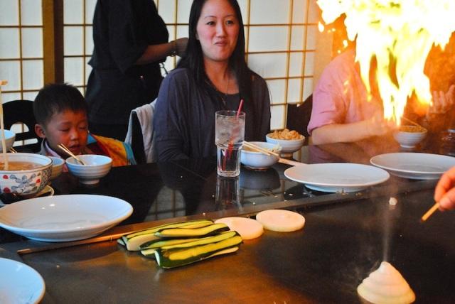 teppanyaki at Tokyo Wako