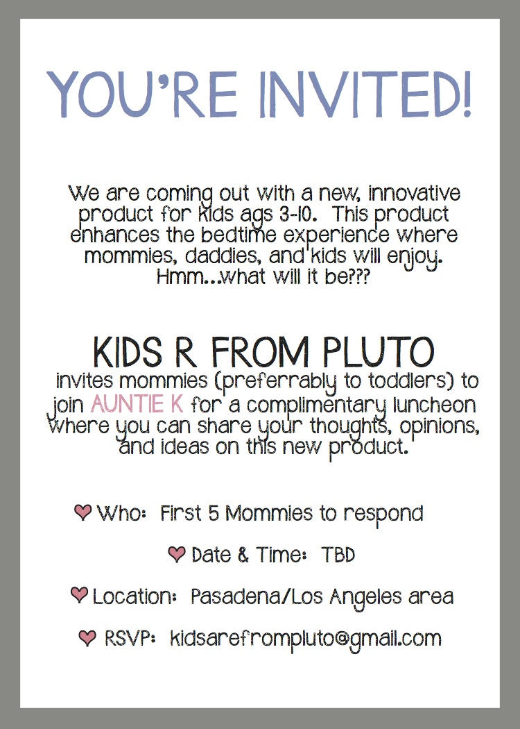 Invite Wording for awesome invitation example