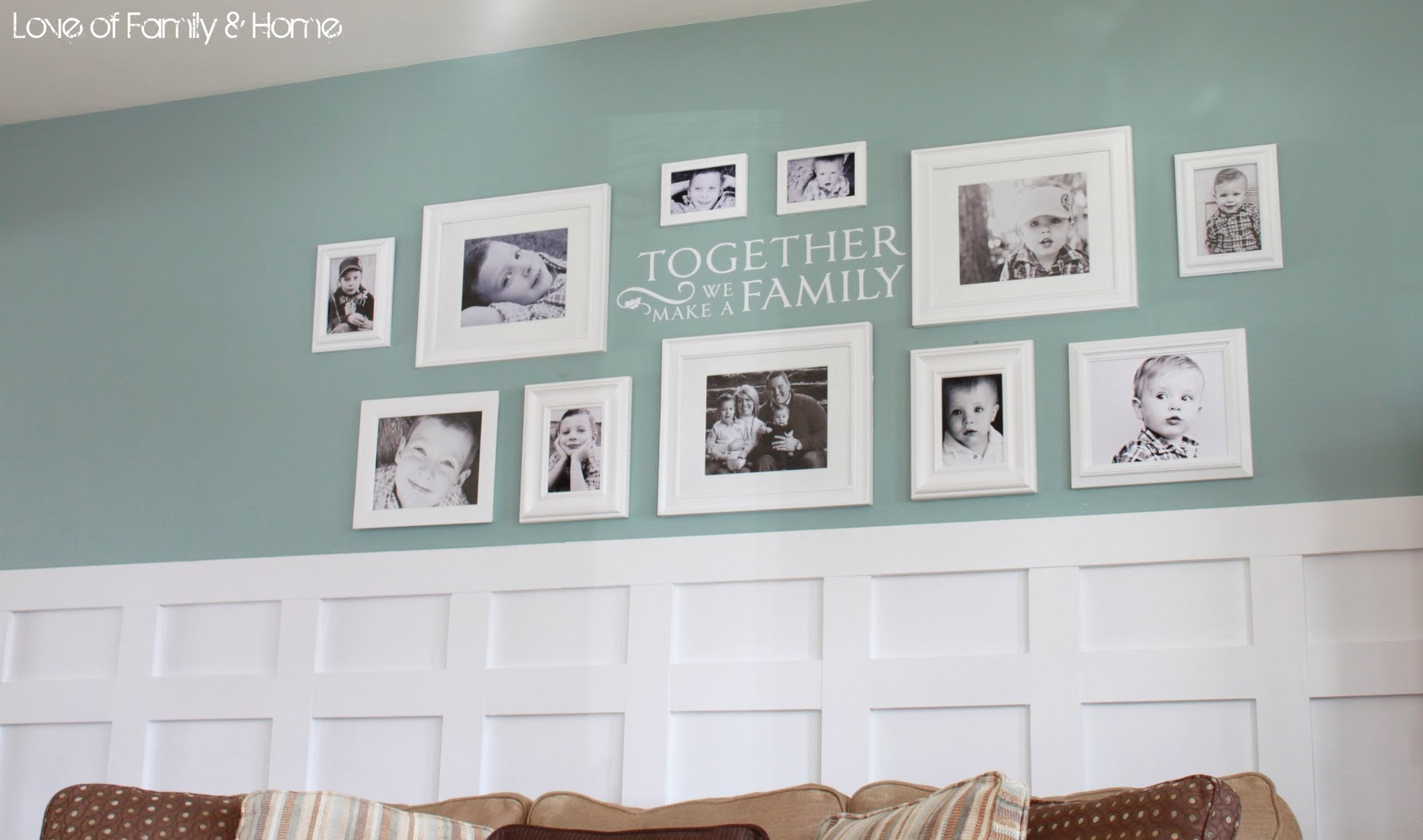 Family Gallery Wall Kids Are From Pluto A Mother S Guide To A